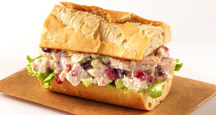 Artisan: Turkey Cranberry Salad Baguette