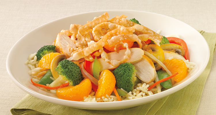 Asian Chicken Stir-Fry^