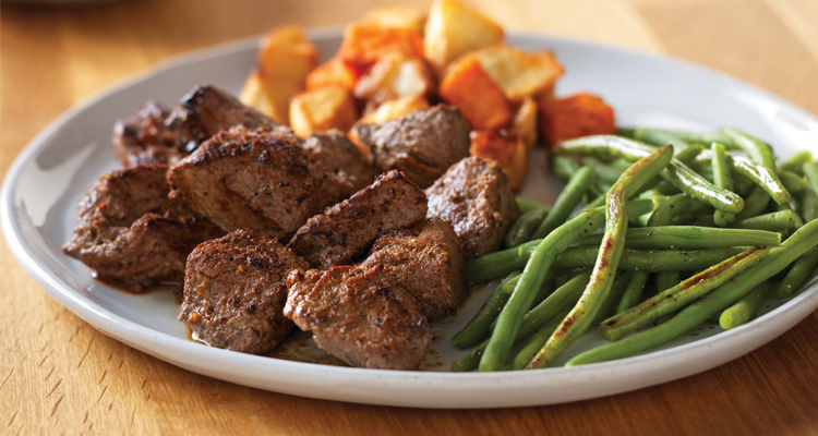 Seared Steak Tips*