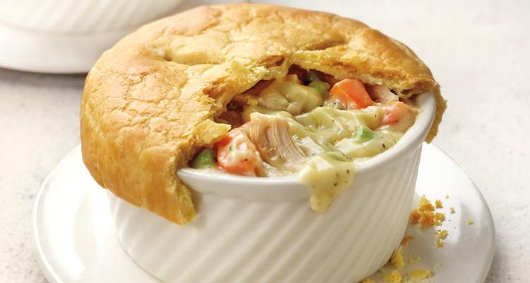 Traditional Chicken Pot Pie