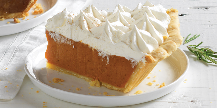 Harvest Pumpkin with Real Whipped Cream