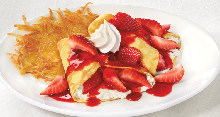 Strawberry Crêpes