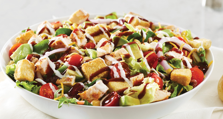 Barbeque Chicken Salad