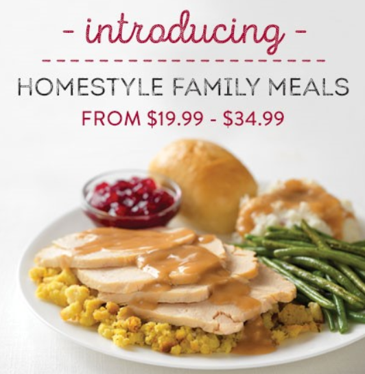 NEW Homestyle Family Meals